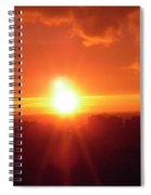 Ottawa Sunset Spiral Notebook