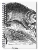 Otter, 1873 Spiral Notebook