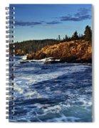 Otter Cliffs Spiral Notebook