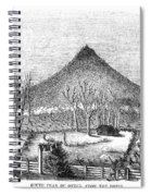 Otter Mountain, Virginia Spiral Notebook