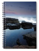 Otter Point Reflections II Spiral Notebook