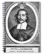 Otto Von Guericke (1602-1686) Spiral Notebook