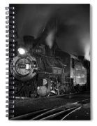 Our Best Side Black And White Spiral Notebook