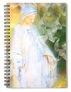Our Lady Of Nature Spiral Notebook