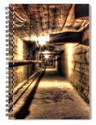Our Lady Queen Of Angels Tunnels Detroit Mi Spiral Notebook