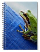 Out From Under The Blue Tarp Spiral Notebook