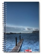 Out Into The Bay Spiral Notebook