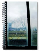 Out The Back Window Of The Delta Blues Museum Clarksdale Ms Spiral Notebook