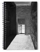 Outdoor Walkway Spiral Notebook