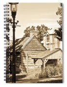 Outside The Mercer Museum Spiral Notebook