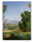 Outskirts Of Valdemusa Spiral Notebook