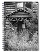 Over Grown And Forgotten Spiral Notebook