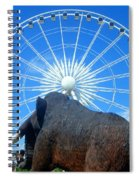 Over Mammoth Proportion  Spiral Notebook
