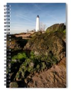Over The Jetty Spiral Notebook