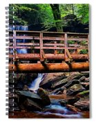 Over The River Spiral Notebook
