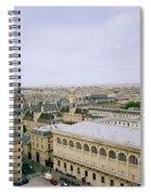 Looking Over Paris Spiral Notebook