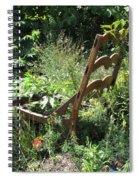 Overgrown Chair Spiral Notebook