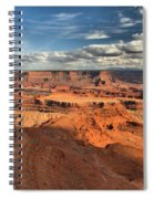Overlooking Dead Horse Point Spiral Notebook