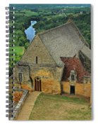 Overlooking The French Countryside Spiral Notebook