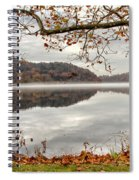 Overlooking The River Spiral Notebook