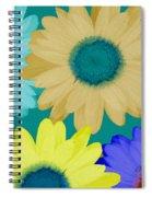 Oversize Daisies Spiral Notebook