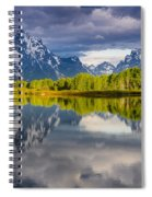 Oxbow Light Spiral Notebook