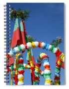 Oxen Cart Decorations Spiral Notebook