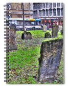 Oxford England Graveyard Spiral Notebook
