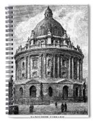 Oxford: Radcliffe Library Spiral Notebook