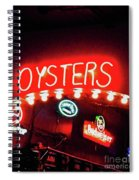 Oysters Spiral Notebook