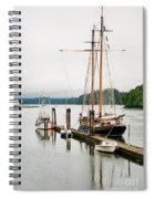 Pacific Grace Spiral Notebook