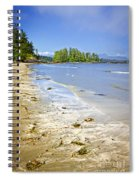 Pacific Ocean Coast On Vancouver Island Spiral Notebook