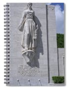 Pacific Theater Memorial - Hawaii Spiral Notebook
