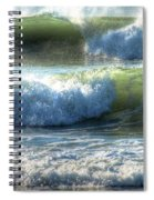 Pacific Waves Spiral Notebook