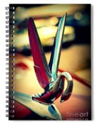 Packard Swan 2 Spiral Notebook
