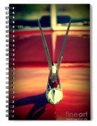 Packard Swan 3 Spiral Notebook