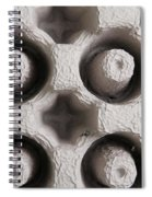 Packing Material Spiral Notebook
