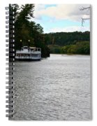Paddle Boat Spiral Notebook