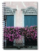 Padua Balcony And Window Boxes Spiral Notebook