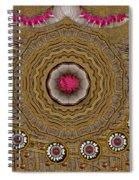Pagoda Of Lotus Pop Art Spiral Notebook