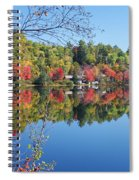 Paint Lake  Muskoka Canada Spiral Notebook