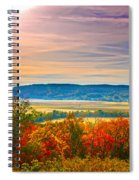 Paint Valley From Valley View Golf Spiral Notebook