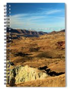 Painted Blue Basin Spiral Notebook