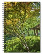 Painted Gardens Spiral Notebook