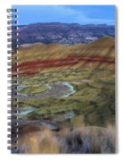 Painted Hills At Dusk Spiral Notebook