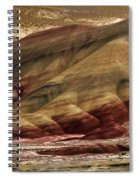Painted Hills Grooves Spiral Notebook