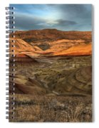 Painted Hills In The Fossil Beds Spiral Notebook