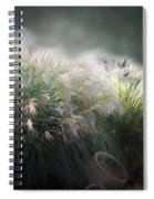 Painted Pampas Spiral Notebook
