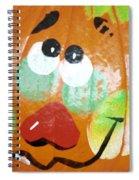 Painted Pumpkin 3 Spiral Notebook