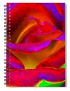 Painted Rose 1 Spiral Notebook